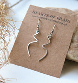 Kinked earrings