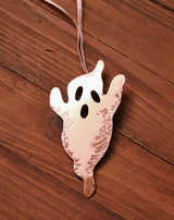 Copper ghost decoration keepsake