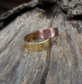 Copper or brass toe ring