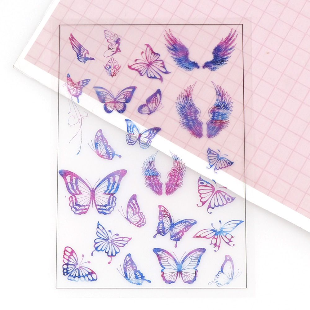Crystal Epoxy Material Butterfly Handmade DIY Material Accessories