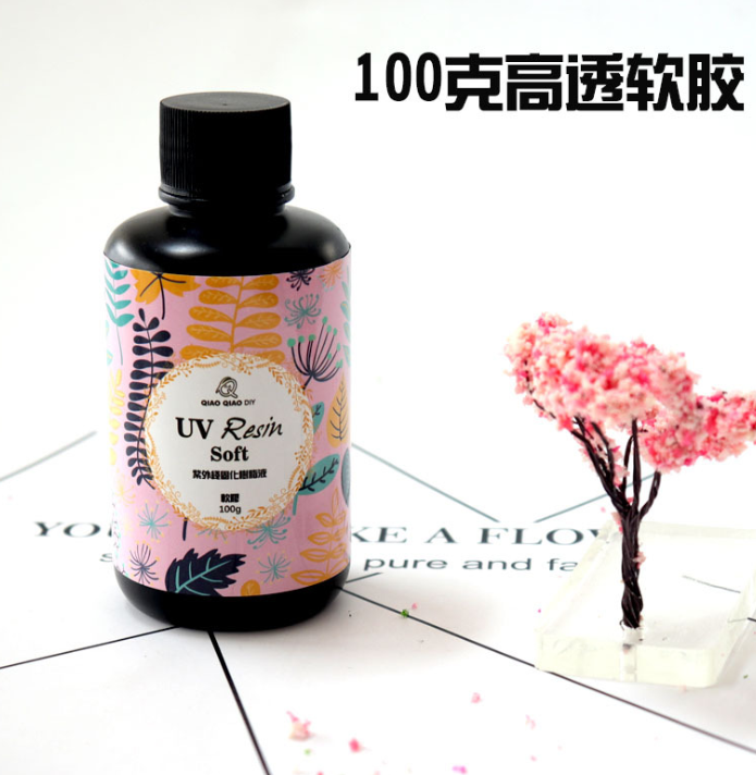 Soft Type UV Resin Glue For DIY Jewelry Mold