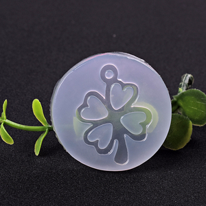 Mirror Clover Crystal Epoxy Mould