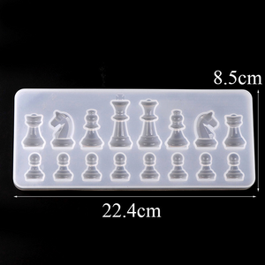 DIY Chess Silicone Mold - infinity actually