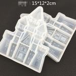 Castle Clear Silicone Mold