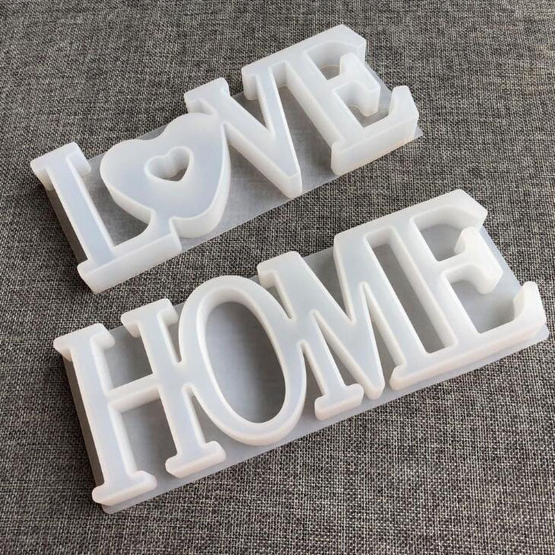 Love Home Silicone Mould For Casting Resin