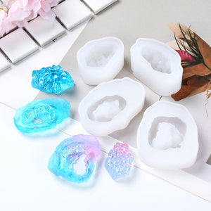 DIY Crystal Cluster Silicone Mould