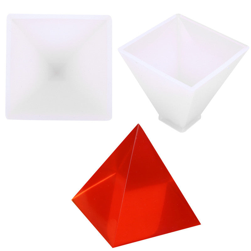 Pyramid Mold For Casting Resin