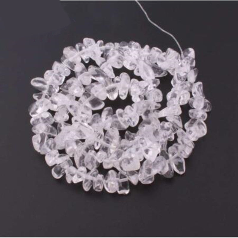 Natural Crystal Crushed Stone Beads