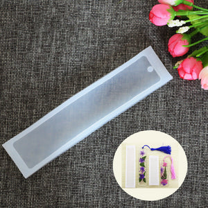 Bookmark Silicone Size Mould
