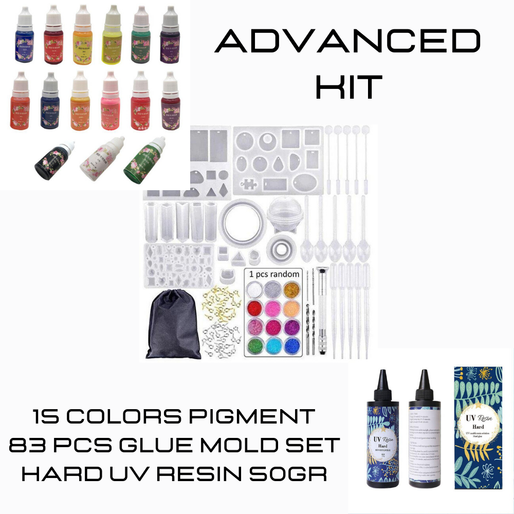 Advanced UV Resin Kit (Everything You Need)