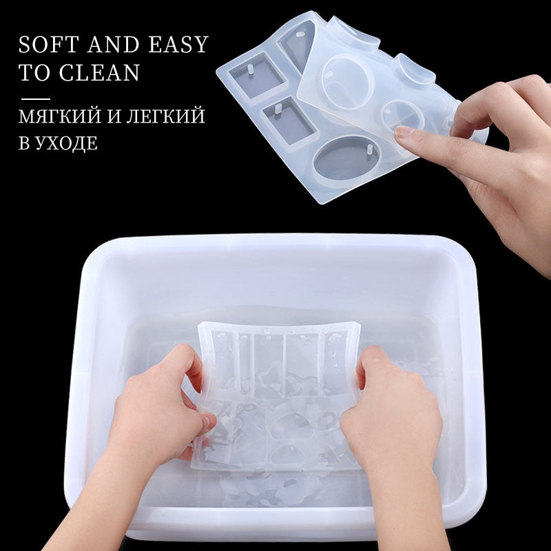 Resin Silicone Mold Kits