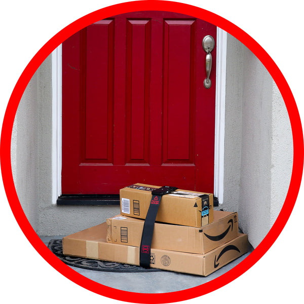 Package Leash Alarm System