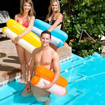 [LAST DAY PROMOTION, 50% OFF]Inflatable Swimming Floating Hammock - hifivestore-c