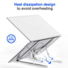 Adjustable Foldable Non-slip Laptop Stand - hifivestore-c