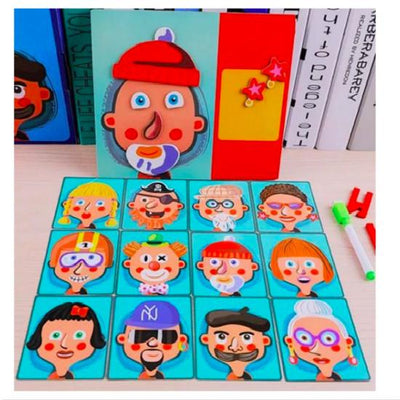 【Buy two and get Free Shipping】Children's Puzzle Magnetic Puzzle - hifivestore-c