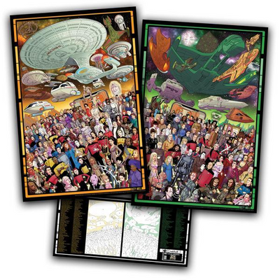 Star Trek Anniversary Limited Edition Puzzle(Any 2 Free Shipping) - hifivestore-c
