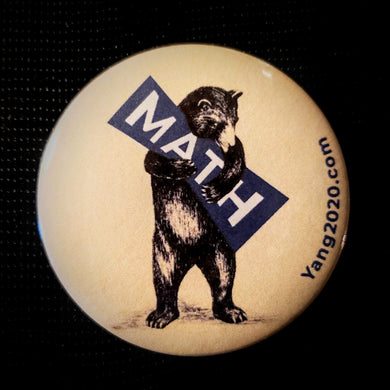 Math Bear Button