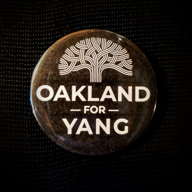 Oakland for Yang Button