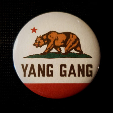California Yang Gang Button