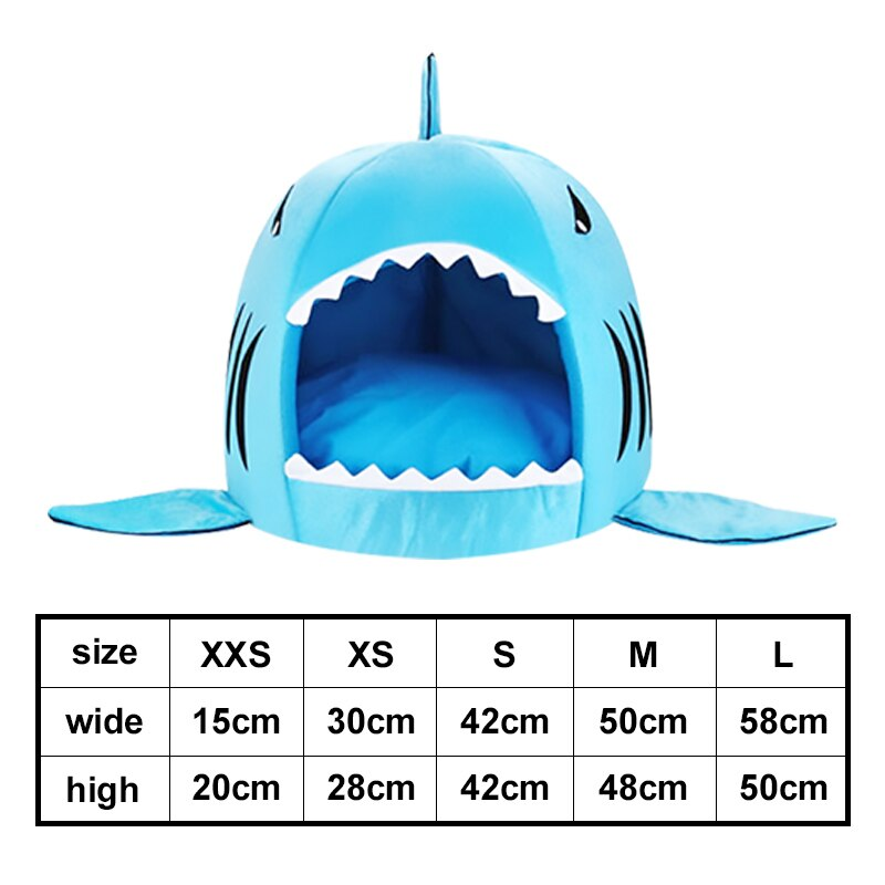 Shark Pet Sleeping Bed
