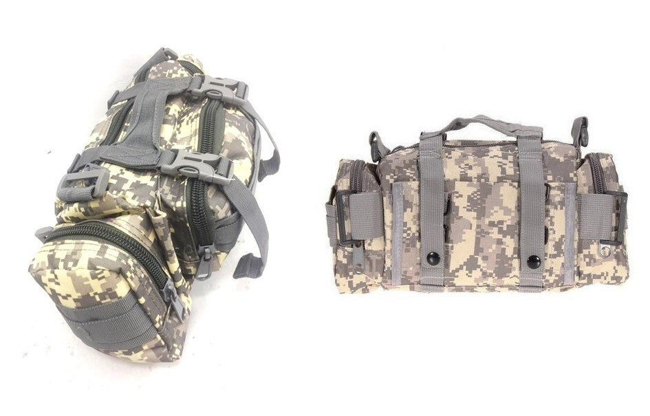 Military 01 Tactical Pouch, Digital Grey