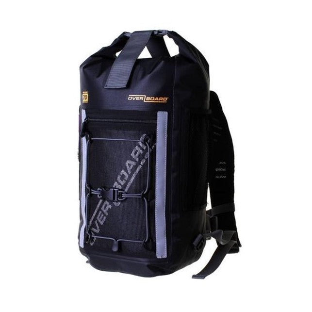 Pro-Light Waterproof Backpack Black, 20L, Overboard.