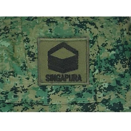 2SG Mini Rank , Velcro Patch, OD Green