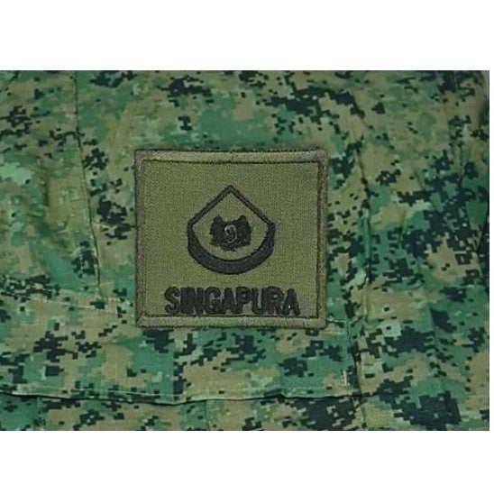 3WO Mini Rank , Velcro Patch, OD Green