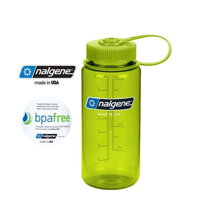 Nalgene 16oz Wide mouth 500ml Spring Green