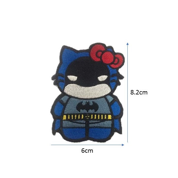 BatKitty Embroidery Patch
