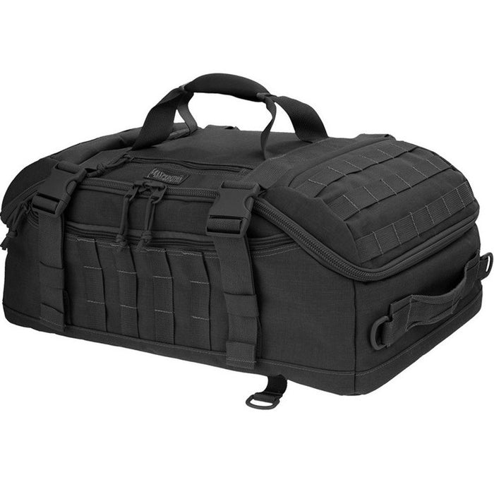 FLIEGERDUFFEL ADVENTURE BAG , Black