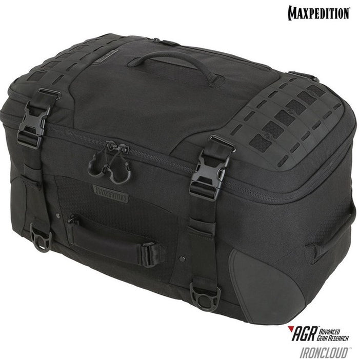 IRONCLOUD™ ADVENTURE TRAVEL BAG 48L , Black