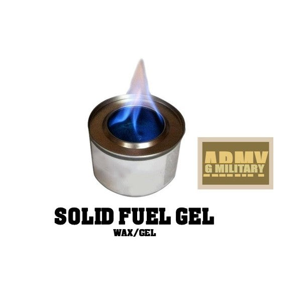 Solid Fuel Gel Cans