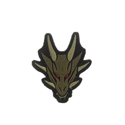 Drago Embroidery Patch Khaki Bronze