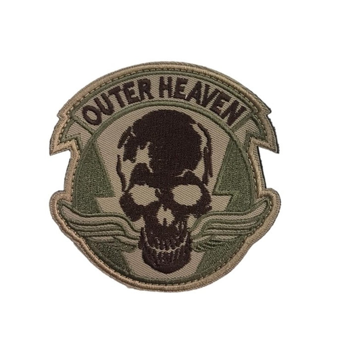 Outer Heaven Skull Patch, with Velcro