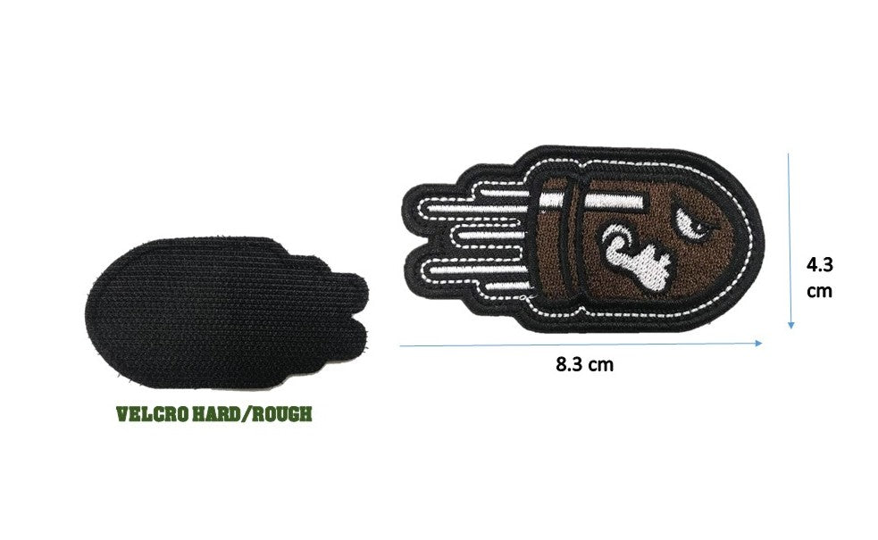BULLET SPEEDO Patch with Velcro