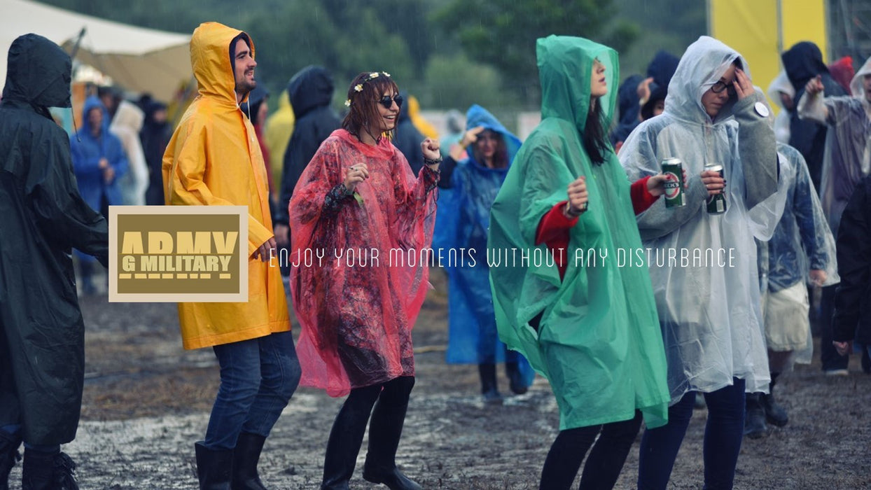 Disposable Poncho, Raincoat