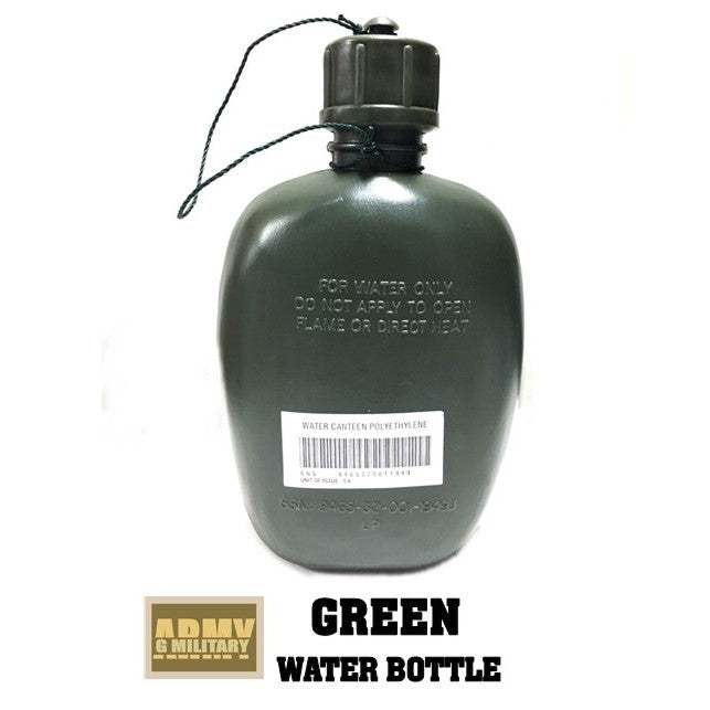 Army Green water bottle