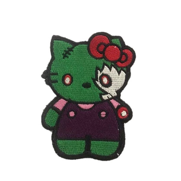 GreentheKitty Embroidery Patch