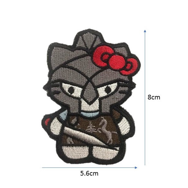 IronKitty Embroidery Patch