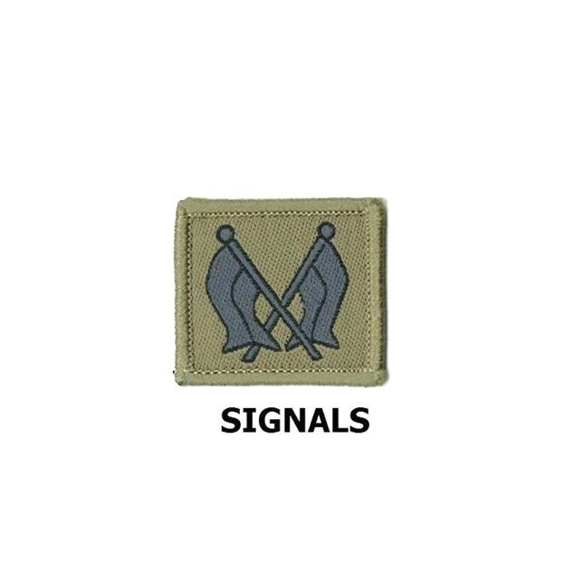 SIGNAL COLLAR Army No.4 Badge