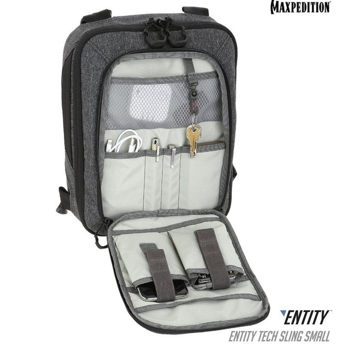 ENTITY™ TECH SLING BAG (SMALL) 7L , Charcoal