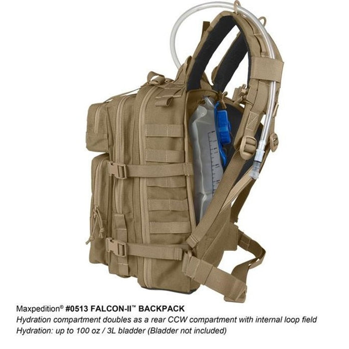 FALCON-II BACKPACK 23L , Wolf Gray