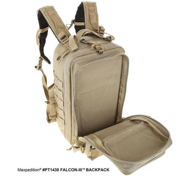 FALCON-III BACKPACK 35L , Wolf Gray