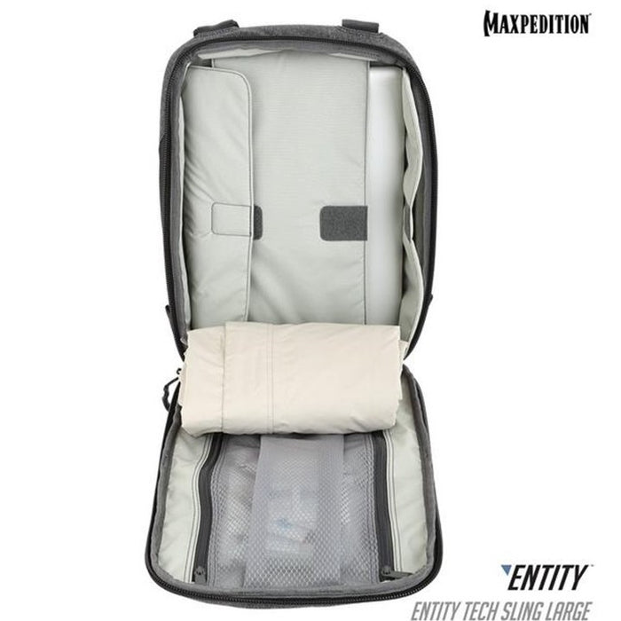 ENTITY™ TECH SLING BAG (LARGE) 10L , Ash