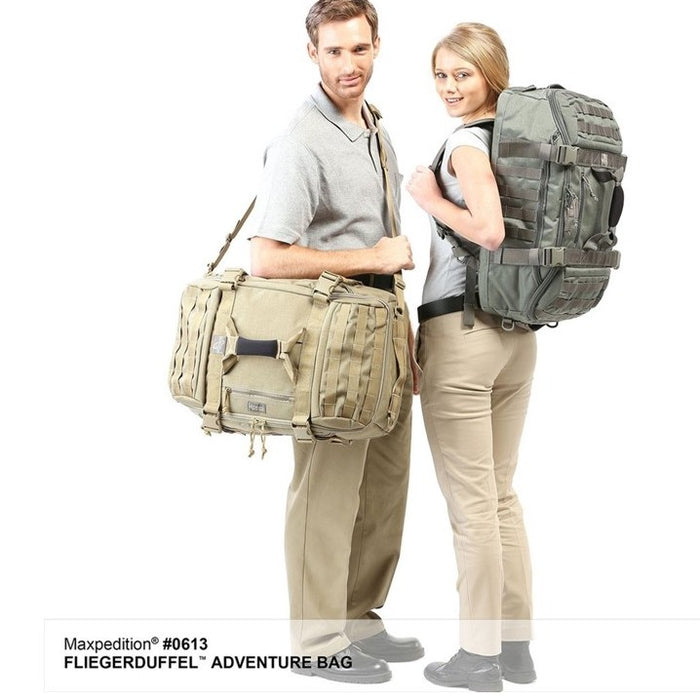 FLIEGERDUFFEL ADVENTURE BAG , Khaki