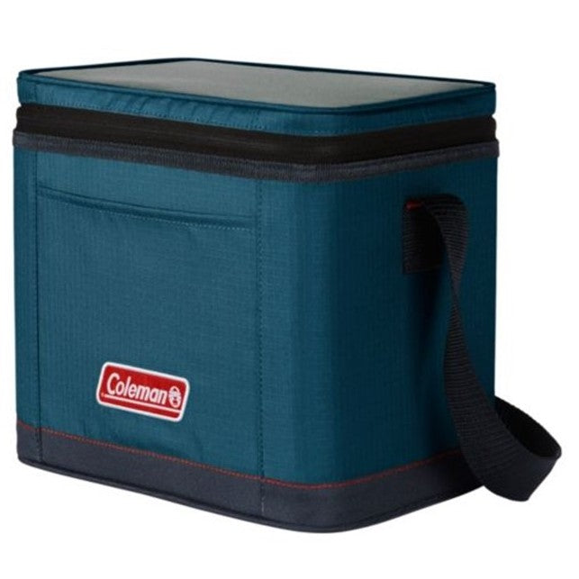 9-Can Portable Soft Cooler, Space Blue.