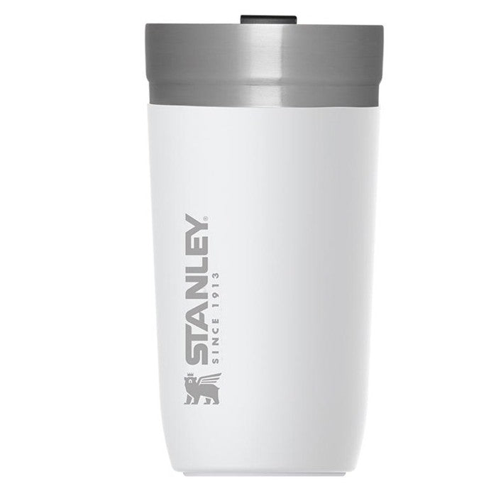 GO Series Vacuum Tumbler 470ml Hot Cold Insulated Thermos , Polar White