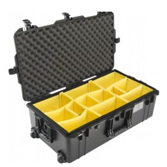 PELICAN 1615AIRWD (WITH DIVIDERS) BLACK