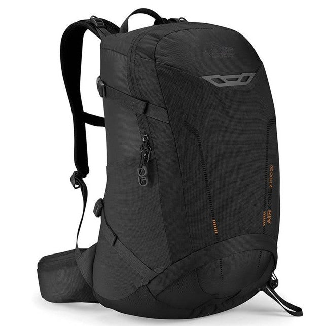 AirZone Z Duo 30 Litres Backpack , Black